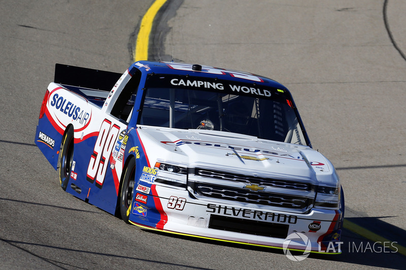 Brandon Jones, SoleusAir Chevrolet Silverado