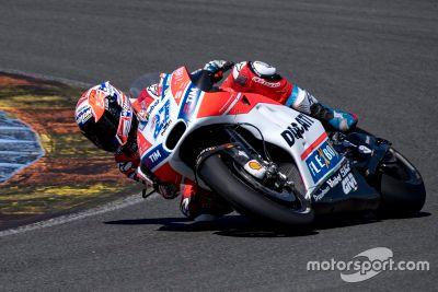 Ducati-Test in Valencia, September