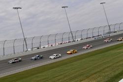 Kevin Harvick, Stewart-Haas Racing Ford, Chase Elliott, Hendrick Motorsports Chevrolet, Brad Keselowski, Team Penske Ford, Joey Logano, Team Penske Ford