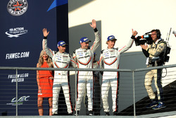 Winners Timo Bernhard, Earl Bamber, Brendon Hartley, Porsche Team