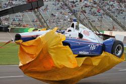 Разбитый автомобиль Элио Кастроневеса, Team Penske Chevrolet