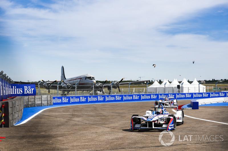 Antonio Felix da Costa, Amlin Andretti Formula E Team; Robin Frijns, Amlin Andretti Formula E Team