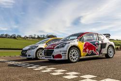 Die Peugeot 208 WRX vom Team Peugeot Hansen