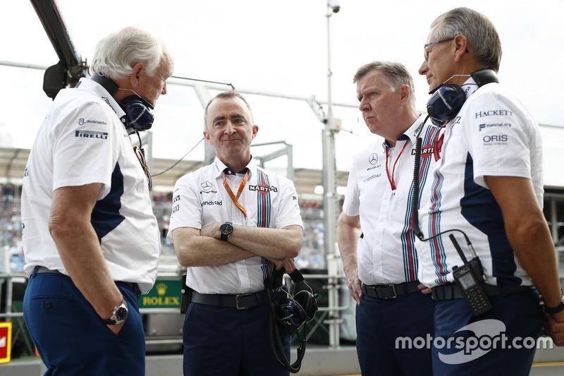 Paddy Lowe, Williams Formula 1