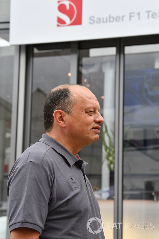 فريدريك فاسور، مدير فريق ساوبر