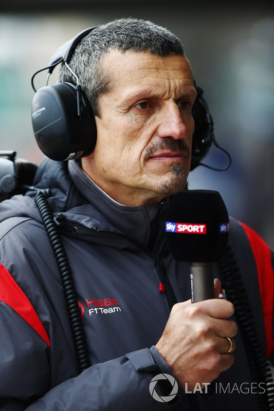 Guenther Steiner, director del equipoHaas F1 Team