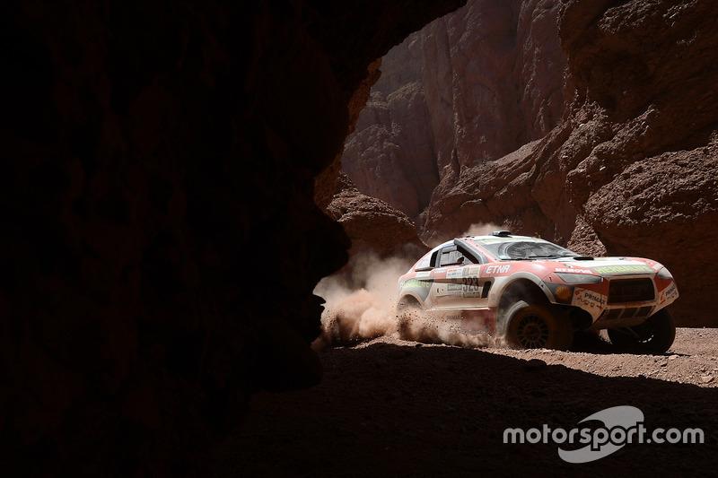 #323 Wevers Sport Ford HRX: Nicolas Fuchs, Fernando Mussano