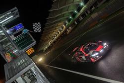 #15 Audi Sport Team Phoenix Audi R8 LMS cross the check flag