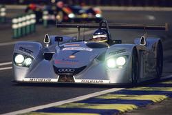 #7 Team Joest Audi R8: Michele Alboreto, Christian Abt, Rinaldo Capello