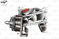 McLaren MP4-25 front brake assembly