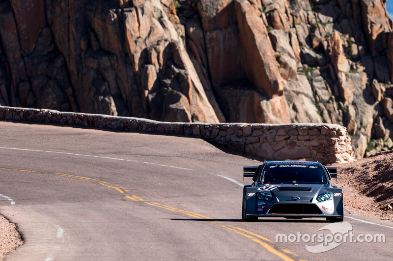 37 Ford Focus Tony Quinn At Pikes Peak Hillclimb Photos