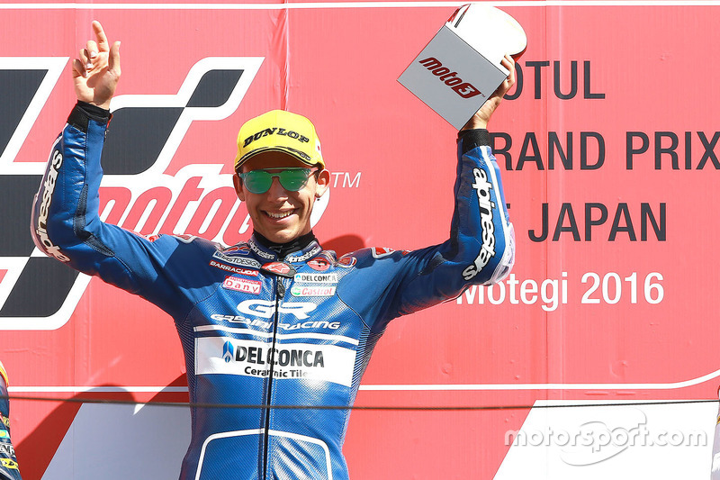 Podium: 1. Enea Bastianini, Gresini Racing Team Moto3