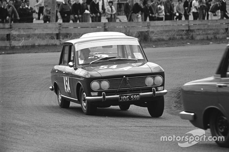 Nissans racing in Australia in the 1960s