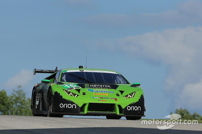 #16 Change Racing Lamborghini Huracan: Spencer Pumpelly, Corey Lewis