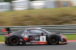 #1 Belgian Audi Club Team WRT Audi R8 LMS: Frederic Vervisch, Will Stevens, Dries Vanthoor