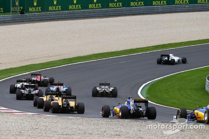Marcus Ericsson, Sauber C35 alla partenza