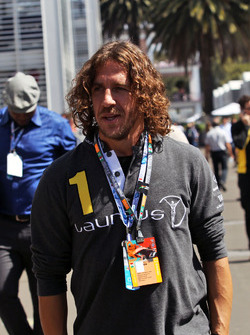 Carles Puyol, Retired Football Player, guest of the Sahara Force India F1 Team