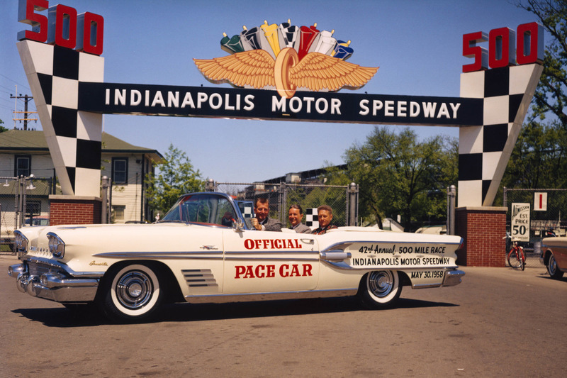 Sam Hanks pace car