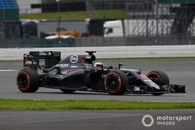Silverstone July testing