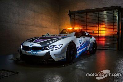 BMW i8 Roadster Safety Car unveil