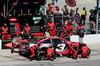 Austin Dillon, Richard Childress Racing, Chevrolet Dow Coatings pit stop