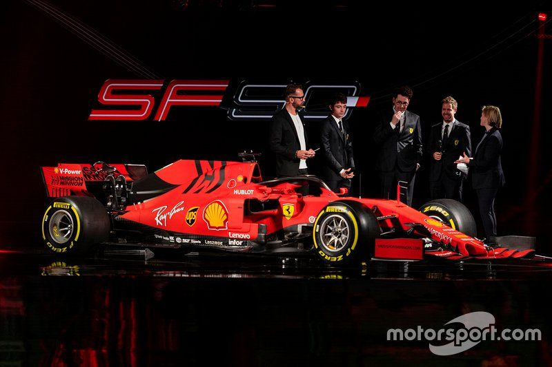 Peluncuran Ferrari