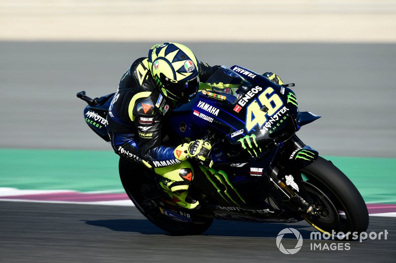 14 место - Валентино Росси, Yamaha Factory Racing