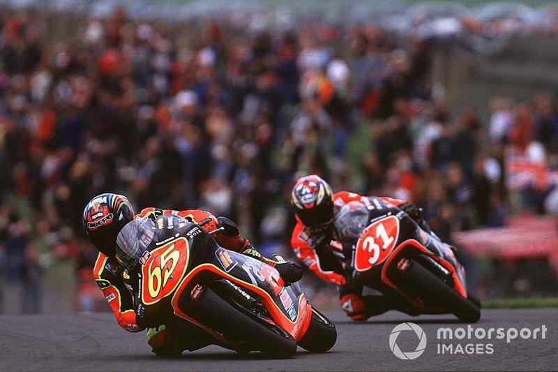 Campeón de 250cc en 1998