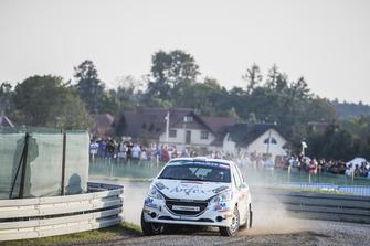 Mattia Vita, Pietro Ometto, TRT Junior Rally Team, Peugeot 208 R2