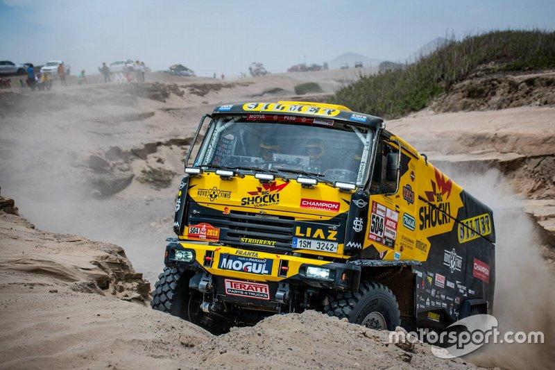 #504 Big Shock Racing: Martin Macik, Frantisek Tomasek, Lukas Kalanka