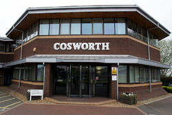 The Cosworth Factory in Northampton