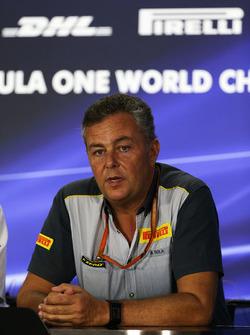 Mario Isola, Pirelli Sporting Director in the Press Conference