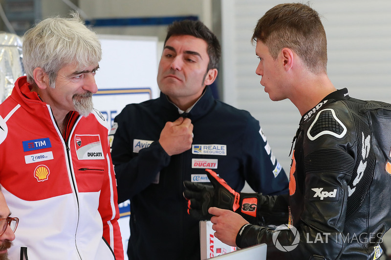 Gigi Dall'Igna, Ducati Team General Manager, Tito Rabat, Avintia Racing