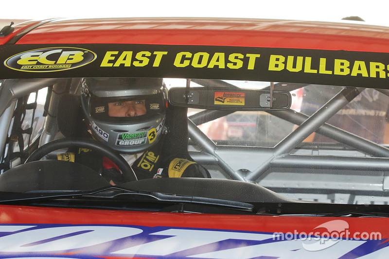 SuperUtes testing at Queensland Raceway