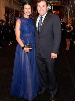 Ryan Newman e la moglie Krissie