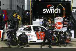 Noah Gragson, Joe Gibbs Racing, Toyota Camry Switch pit stop