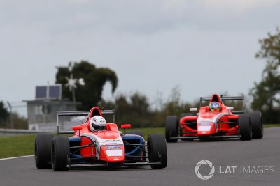 British F4: Snetterton oktober test