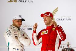 Победитель Себастьян Феттель, Ferrari, второе место – Валттери Боттас, Mercedes AMG F1