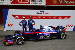 Pierre Gasly, Scuderia Toro Rosso, Brendon Hartley, Scuderia Toro Rosso e la nuova Scuderia Toro Ros