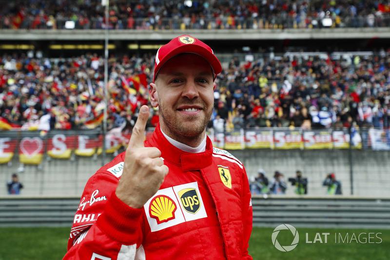 10. Sebastian Vettel, Ferrari - GP da China 2018