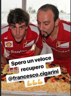Fernando Alonso Francesco Cigarini