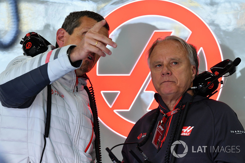 Guenther Steiner, Haas F1 Team Principal and Gene Haas, Founder and Chairman, Haas F1 Team
