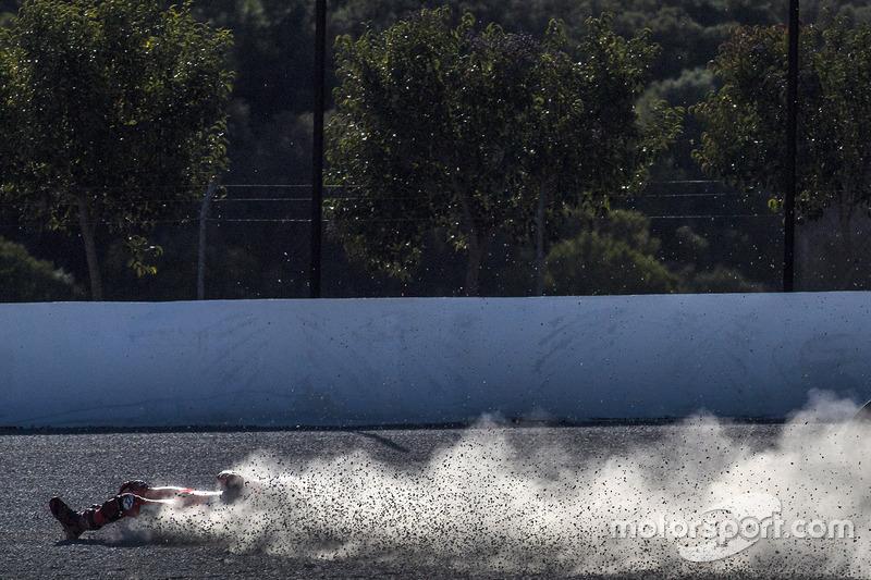 Crash, Jorge Lorenzo, Ducati Team