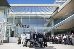 Lewis Hamilton, Mercedes-AMG F1, Valtteri Bottas, Mercedes-AMG F1, Toto Wolff, Mercedes AMG F1 Director of Motorsport, Giuseppe D'Arrigo, Petronas
