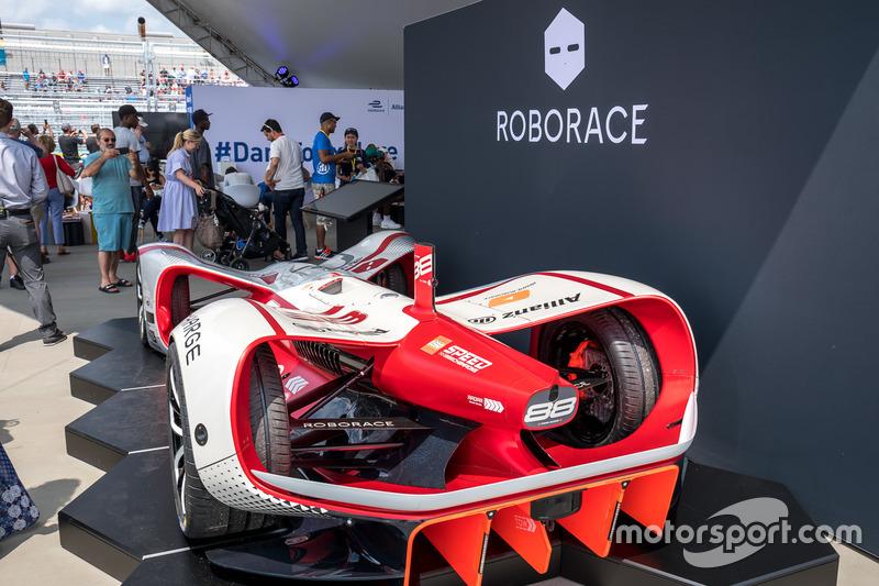Roborace display