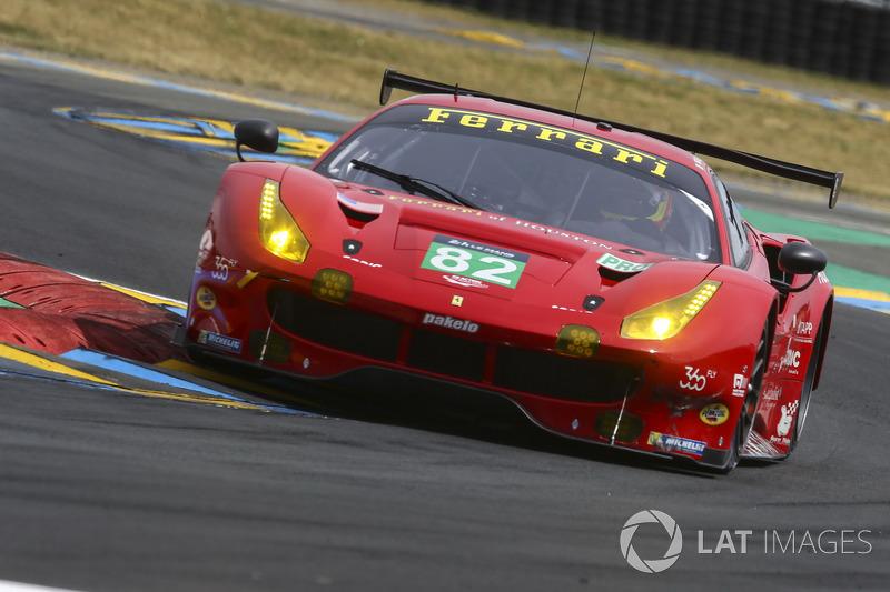 LMGTE-Pro: #82 Risi Competizione, Ferrari 488 GTE