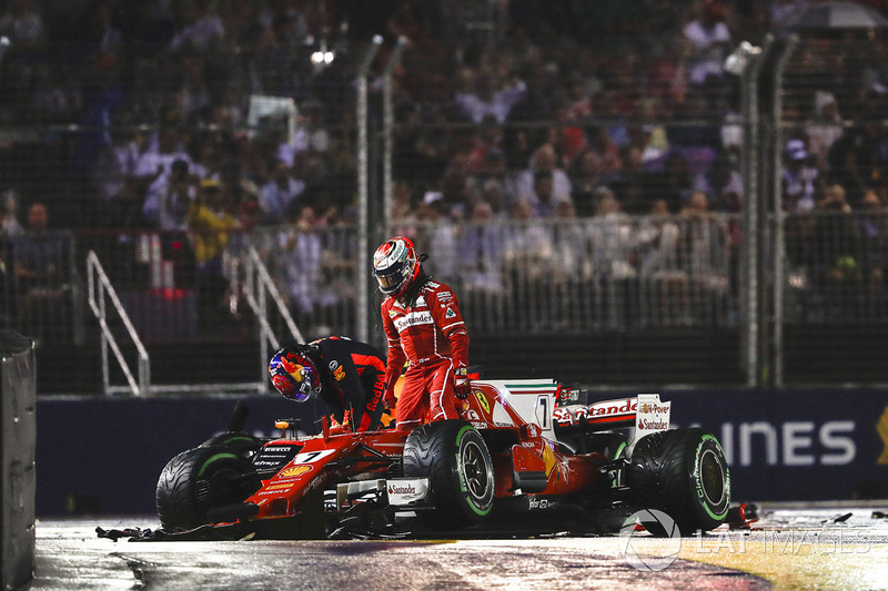 O episódio afetou não só a corrida em si ao eliminar três dos favoritos, mas também colocou Vettel em situação delicada no campeonato.