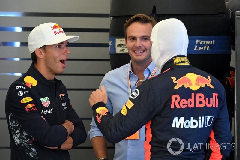 Макс Ферстаппен, П'єрр Гаслі, Red Bull Racing, Гідо ван дер Гарде