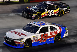 Matt Tifft, Joe Gibbs Racing Toyota and Brandon Jones, Richard Childress Racing Chevrolet