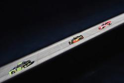 Ryan Blaney, Team Penske Ford, Ryan Sieg, RSS Racing Chevrolet and Ryan Reed, Roush Fenway Racing Ford